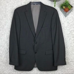 Hugo Boss Pin Striped Blazer | 42L